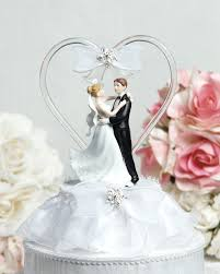 glass wedding cake toppers glass heart cake topper wedding cake topppers
