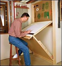 Drafting Table Plans Folding Wall Table Plans Preview Shop Drafting Table