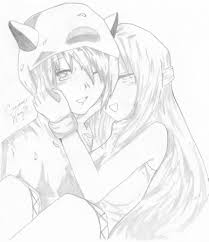 photos anime cute couple drawing drawing art gallery