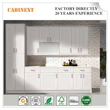 real wood kitchen pantry cabinet china home used solid wood kitchen cabinet modern white