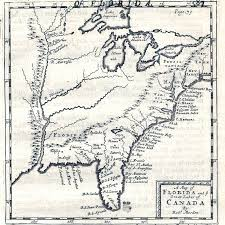 Empty United States Map by 1680 U0027s Pennsylvania Maps