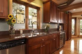 Stained Hickory Cabinets Show All Great Northern Cabinetry