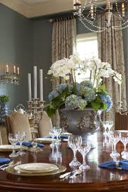 kitchen floral arrangements for dining room table throughout