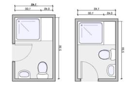 bathroom design dimensions types of bathroom layouts home plan designs