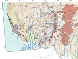 Southwestern United States Map by Interplay Of Oceanographic And Paleoclimate Events With Tectonism