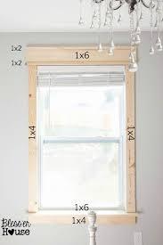 Interior Molding Designs by Top 25 Best House Trim Ideas On Pinterest Interior Window Trim