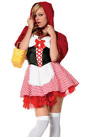 Red Riding Hood Halloween Costumes Red Halloween Ladies Red Riding Hood Fairytale Costume