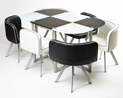 white space saver table furniture great space saving table and chairs offering modern