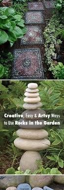 Rocks For The Garden Got Stones Creative Easy And Artsy Ways To Use Rocks In The