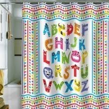 Modcloth Shower Curtain Monster Shower Curtain Foter