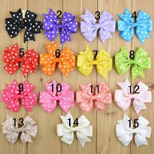3 grosgrain ribbon new arrive 3 grosgrain ribbon dot printing bows without