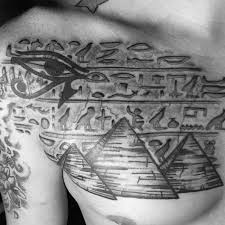 30 hieroglyphics tattoo designs for men ancient egyptian ink ideas