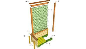 Wood Trellis Plans by Trellis Plans Ideasidea