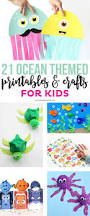 check out these 21 ocean themed printables and crafts for kids