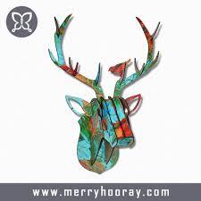 deer head home decor simple white deer head home white deer head