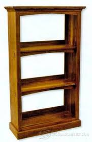 Simple Wood Shelves Plans by Simple Bookcase Plans Furniture Plans And Projects