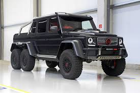 mercedes g class 6x6 the brabus g700 6x6 rhd microsite and promotional video is up