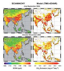 Iup Map Methane Ch4 New Sciamachy Handbook Earth Online Esa
