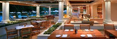 Balinese Dining Table Nusa Dua Restaurants Bali Indonesia Grand Hyatt Bali