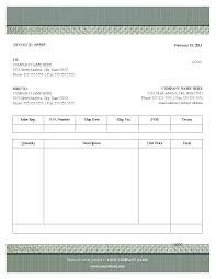 Professional Receipt Template Blank Invoice Template Example Masir