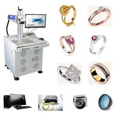 jewelry engraving machine sterling silver fiber laser engraving machine 18k 24k jewelry gold