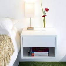 Small Bedroom Solutions Furniture Floating Nightstand With Drawer And Modern Small Floating