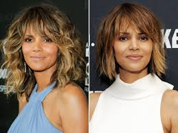 back view of halle berry hair halle berry chopped her hair see her new bob people com