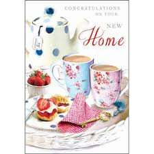 congrats on your new card congratulations on your new home card karenza paperie