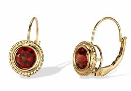 are leverback earrings for pierced ears 14k gold garnet leverback earrings only 229 00 birthstone jewelry