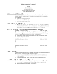 Job Specific Resume Templates by Job Specific Resume Free Resume Example And Writing Download