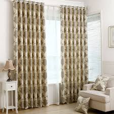 light tan living room light tan and beige floral jacquard geometric curtains for living room