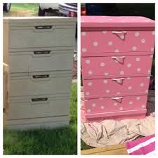 before and after minnie mouse dresser for my daughter adrianna