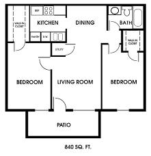 two bed room house best 25 2 bedroom floor plans ideas on small house