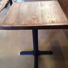 Reclaimed Wood Bistro Table Reclaimed Wood Dining Table Pub Table Top Bistro Table Table Top