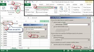 Creating A Pivot Table In Excel How To Resolve Duplicate Data Within Excel Pivot Tables