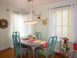 brilliant colorful dining room chairs design decorating ideas