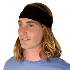 headband men kooshoo hu black headband for men ecofriendly black