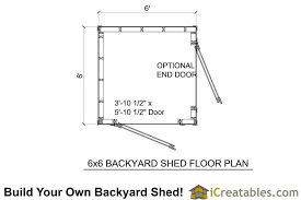 shed floor plans 6x6 shed plans 6x6 storage shed plans icreatables com
