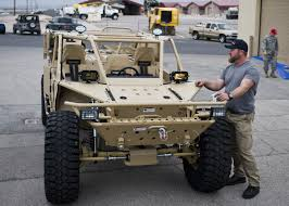 tactical vehicles test evaluation squadron receives first guardian angel air