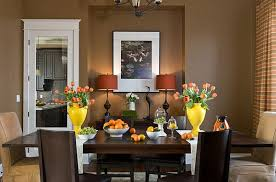 themed dining room modern brown dining room decor colorful dining table in a brown