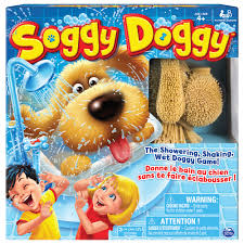 soggy doggy board game for kids with interactive dog toy walmart com