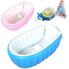 Baby Blow Up Bathtub Inflatable Bath Tub Ebay