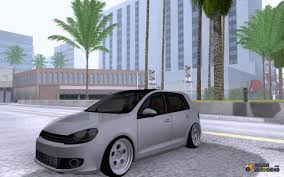 volkswagen golf stance golf vi 2010 stance nation for gta san andreas