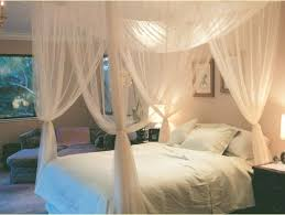 4 Post Bed Frame King 4 Corner Post Bed Canopy Mosquito Net King Size Netting