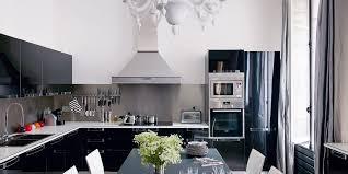 cuisine blanc et noir cuisine et blanches 20 inspirations