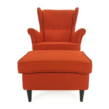 Orange Chair by 30 Off Frighetto Industries Frighetto Industries Modern Red