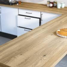 plan de travail bois cuisine plan de travail stratifié bois inox au meilleur prix leroy