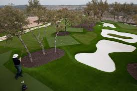 synlawn golf installations pictures with captivating backyard golf