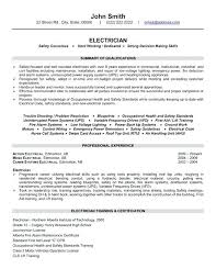 proper resume format 2017 occupational health electrician resume exle click here to download this electrician