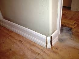 Laminate Flooring Corners How To Handle Rounded Outside Corners When Installing Trim